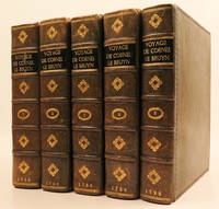 image of VOYAGE AU LEVANT, C'EST-A-DIRE, DANS LES PRINCIPAUX ENDROITS DE L'ASIE MINEURE, DANS LES ISLES DE CHIO, RHODES, CHYPRE, &C. DE MEME QUE DANS LES PLUS CONSIDERABLES VILLES D'EGYPTE, SYRIE, & TERRE SAINTE (2 volumes) [and] VOYAGES DE CORNEILLE LE BRUYN PAR LA MOSCOVIE, EN PERSE, ET AUX INDES ORIENTALES (3 volumes)