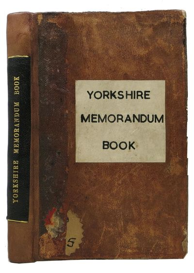 York: Printed by W. Blanchard and Co. for the Booksellers of York, 1781. 1st edition thus. Leather w...