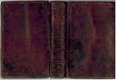 Paris: Jombert, 1765. Contemporary calf. Good +. Two parts: Manuscript and Complete printed text for...