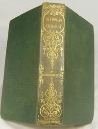 "image of NICHOLAS NICKLEBY (Superb Example of the First ""Cheap"" Edition in Original Cloth)"