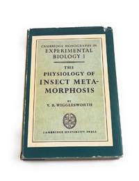 The physiology of insect metamorphosis, No: 1