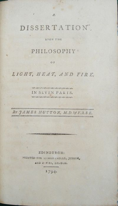 A Dissertation upon the Philosophy of...