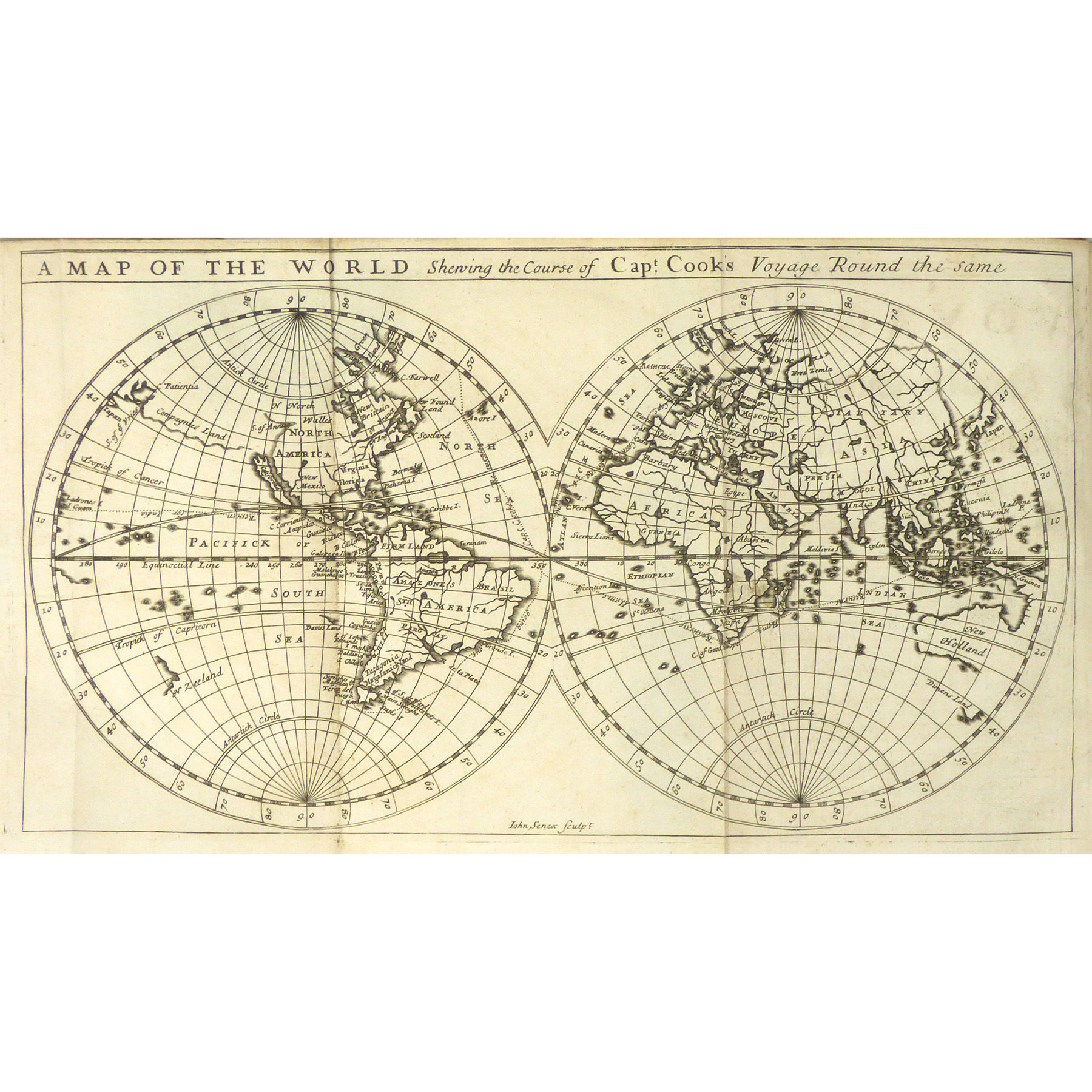A Voyage to the South Sea, and Round the World, Perform'd in the Years 1708, 1709, 1710, and 1711, by the Ships Duke and Dutchess of Bristol. Containing a Journal of all memorable Transactions during the said Voyage; the Winds, Currents, and Variation of the Compass; the taking of the Towns of Puna and Guayaquil, and several Prizes, one of which a rich Acapulco Ship. A Description of the American Coasts, from Tierra del Fuego in the South, to California in the North, (from the Coasting-Pilot, a Spanish Manuscript). ………Wherein an Account is given of Mr. Alexander Selkirk, his Manner of living and taming some wild beasts during the four Years and four Months he liv'd upon the uninhabited Island of Juan Fernandes. (photo 1)