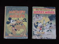 THE ADVENTURES OF MICKEY MOUSE; Book One and Book Two