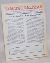 Dimtsi Hafash: bi-weekly newsletter of the Eritrean People\'s Liberation Front. Vol. 2, no. 7-8-9