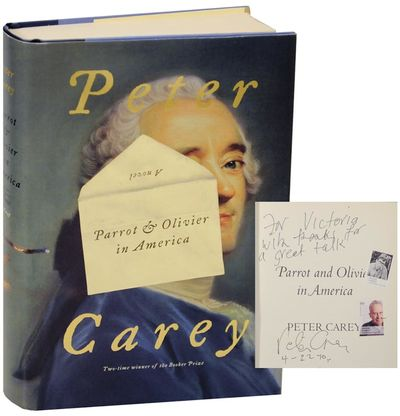 New York: Alfred A. Knopf, 2010. First edition. Hardcover. First printing. A novel from the two time...