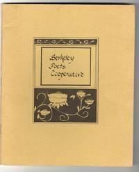BERKELEY POETS' CO-OPERATIVE number 3, fall 1971