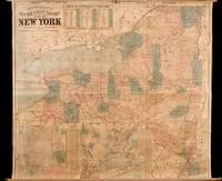Bridgeman's New Rail Road & Township Map of New York...