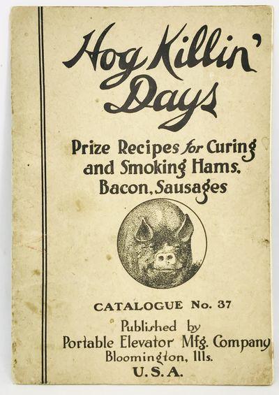 Bloomington, Illinois: Portable Elevator Mfg. Company, 1918. Staplebound. Illustrated wraps. Good. U...