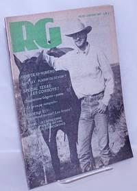 image of Le magazine RG [Revue Gai]: le mensuel gai Québécois; #52, Janvier 1987: Special Texas: Les Cowboys!
