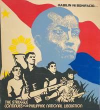 image of Habilin Ni Bonifacio... The struggle continues for Philippine national liberation [screenprint poster]