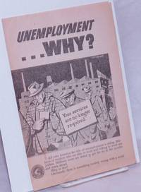 image of Unemployment ... why?  [brochure]