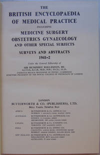 The British Medical Encyclopaedia Of Medical Practice Surveys and Abstracts 1941-42