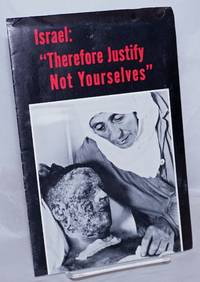"""image of Israel: """"Therefore justify not yourselves."""
