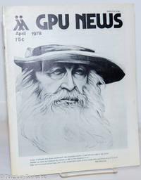 image of GPU News vol. 7, #7, April 1978: Walt Whitman cover