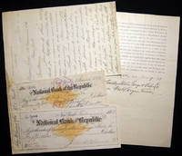 1882 Letter Signed with Related Ephemera, From the Crosby Steam Gage and Valve Co., Boston Massachusetts Regarding the Resolution of a Bankruptcy and Payments