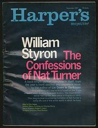 """The Confessions of Nat Turner"" [story in] Harper's Magazine - September 1967 by  William STYRON - Signed - 1967 - from Between the Covers- Rare Books, Inc. ABAA and Biblio.co.uk"