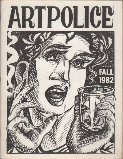 Minneapolis, MN: Artpolice, 1982. First Edition. Very good.. Single issue of the long-running art zi...