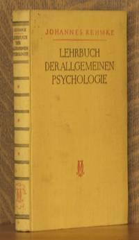 LEHRBUCH DER ALLGEMEINEN PSYCHOLOGIE