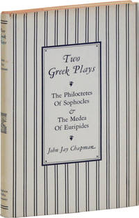 Two Greek Plays: The Philoctetes of Sophocles and the Medea of Euripides