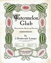 [SHEET MUSIC] Watermelon Club Characteristic March and Two-step