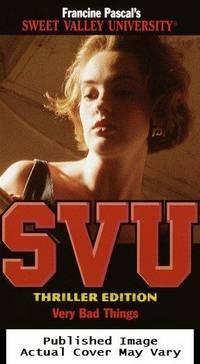 image of Very Bad Things (Sweet Valley University(R))