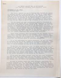 image of Statement to the press. 15 February 1969