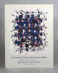Fine American, European & Contemporary Prints, Butterfield & Butterfield Auction Catalogue