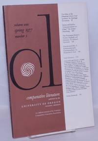 image of Comparative Literature: Volume 29, Number 2, Spring 1977