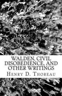 image of Walden, Civil Disobedience, and Other Writings