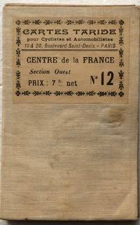 image of Carte Routiere pour Automobilistes & Cyclistes - Centre de La France, Section Ouest, No.12