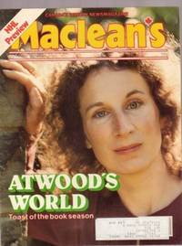 Maclean's  - October 15, 1979, -- Margaret Atwood on Cover, John Paul II Barnstorming the USA, NHL Preview, Joe Paopao, Yehudi Menuhin, Martin Luther King Jr., +++