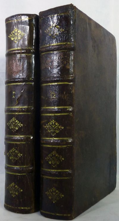 London: Samuel Harding, 1744. Mixed edition. leather_bound. Contemporary full brown calf. Very good....