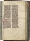 View Image 3 of 5 for Vulgate Bible; in Latin, decorated manuscript on parchment Inventory #TM 973