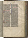 View Image 4 of 5 for Vulgate Bible; in Latin, decorated manuscript on parchment Inventory #TM 973