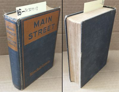 New York: Harcourt, Brace & Howe, 1920. First Edition, First Printing, First Issue. Hardcover. Octav...