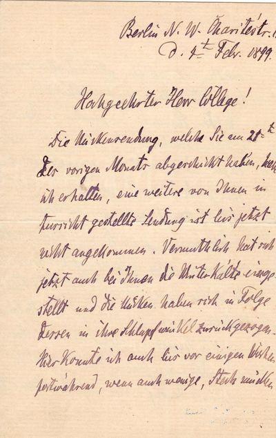 "Robert Koch Writes on ""Mosquitoes..."