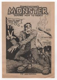 FRANKENSTAIN'S MONSTER LEARNS HOW TO READ [Cover Title]
