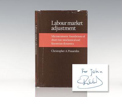 Cambridge: Cambridge University Press, 1976. First edition of Pissarides' first book. Octavo, origin...