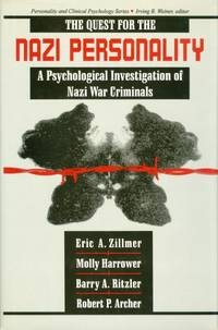 image of The Quest for the Nazi Personality: A Psychological Investigation of Nazi War Criminals