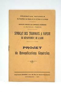 FEDERATION nationale des travailleurs des chemins de fer de France et de colonies. Union des...
