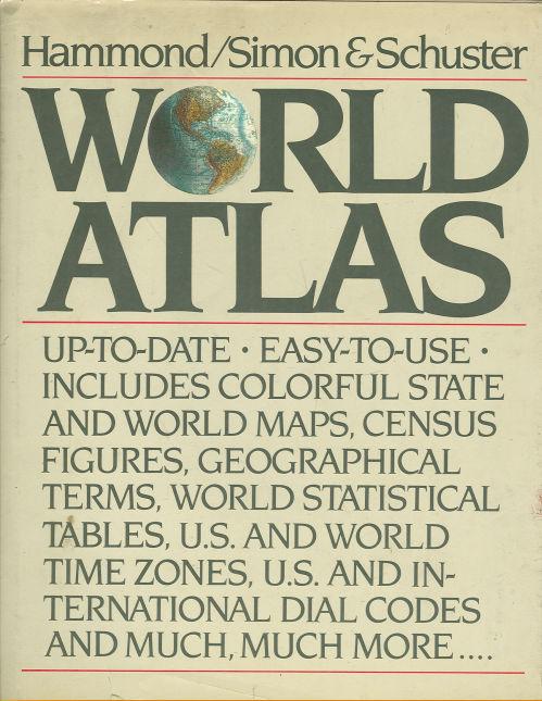 Image for HAMMOND/SIMON AND SCHUSTER WORLD ATLAS