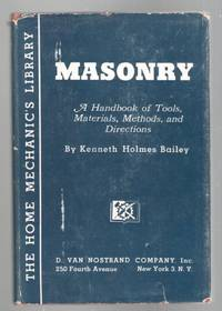 Masonry: A Handbook of Tools, Materials, Methods, and Directions