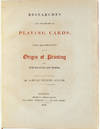 View Image 5 of 8 for Researches into the History of Playing Cards: with Illustrations on the Origin of Printing and Engra... Inventory #3502