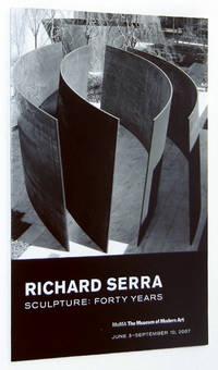 image of Richard Serra: Sculpture, Forty Years, 2007 Museum of Modern Art Exhibition Brochure