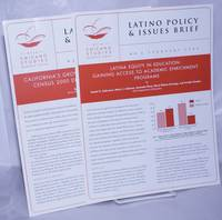image of Latino Policy_Issues Brief, No. 4 February 2003  [with]  No. 5 March 2003  [two items together]