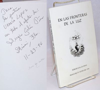 Hialeah, FL: npub, 1996. Paperback. iv, 109p., wraps, 5.5 x 8.5 inches, wraps lightly soiled else ve...