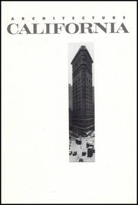 Architecture California: Architecture and Photography (Volume 14 No. 1 May 1992)