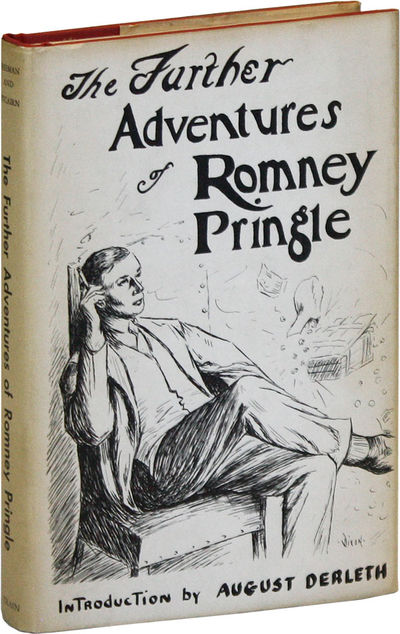 Philadelphia: Oswald Train, 1969. First Edition. Hardcover. Collection of six Romney Pringle stories...