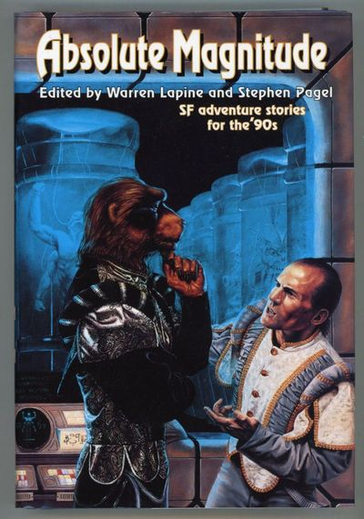 New York: Tor, 1997. Octavo, boards. First edition. Collects sixteen science fiction adventure stori...